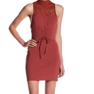 Free People Intimately High Society Lace-up Dress